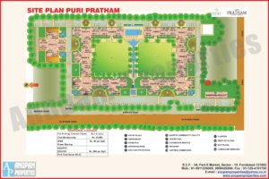 Puri Pratham Layout Plan